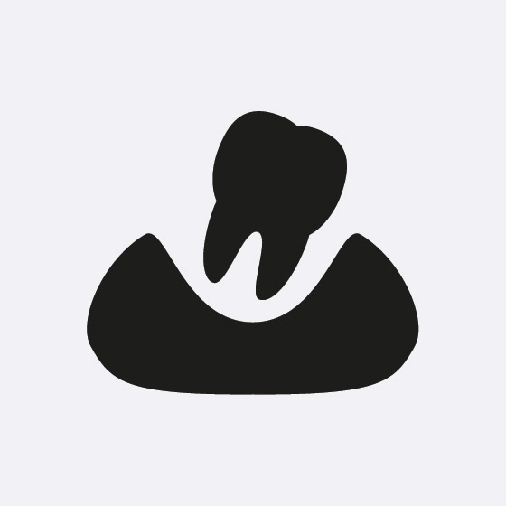 Dislodged tooth icon